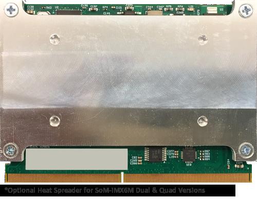 SoM-iMX6M Heat Spreader