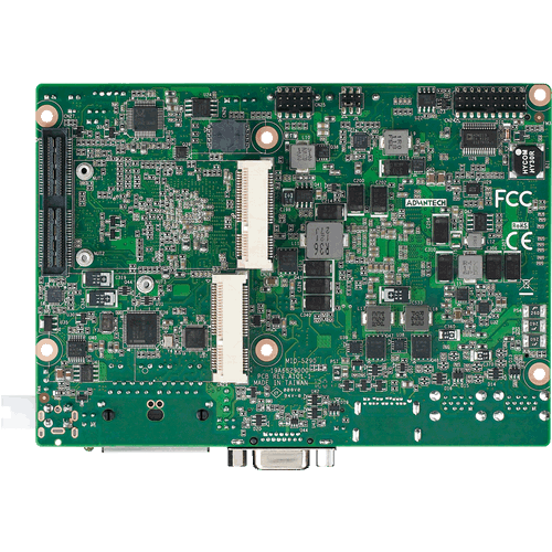 "MIO-5290 3.5"" SBC Back View"